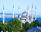 Hotel room with best istanbul view