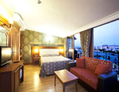 Hotel room with best �stanbul view